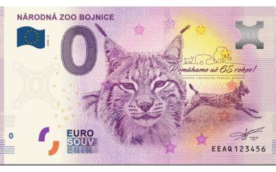 Euro Souvenir bankovka 2020