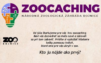Národná zoo Bojnice predstavuje: ZOOCACHING