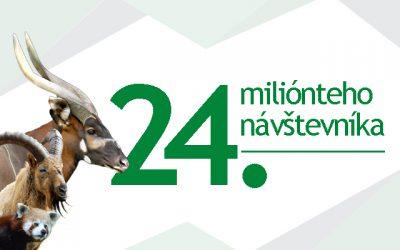 Národná zoo Bojnice privítala 24. miliónteho návštevníka