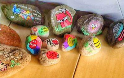 Kamienok prírode (putovné maľované kamene v zoo)
