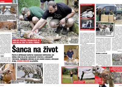 Napísali o nás – Zoologické záhrady sú pre mnohé vzácne a ohrozené druhy JEDINOU NÁDEJOU na prežitie