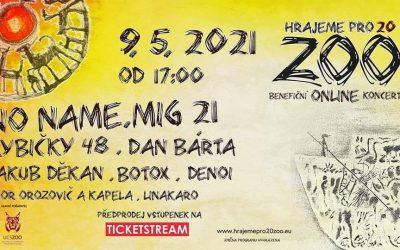 """Benefičný online koncert """"Hráme pre 20 ZOO"""""""