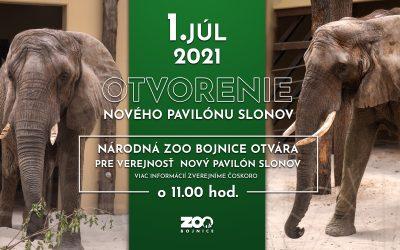 Otvorenie nového pavilónu slonov