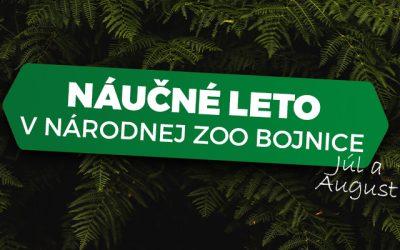 Náučné leto v Národnej zoo Bojnice