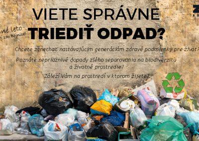 Viete správne triediť odpad?