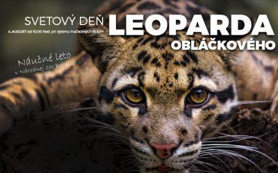 Svetový deň leoparda obláčkového