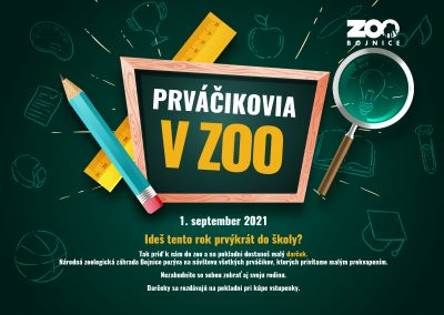 Prváčikovia v zoo