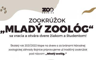 Zookrúžok Mladý zoológ sa vracia